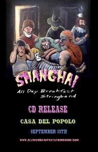 Shanghai cd release poster